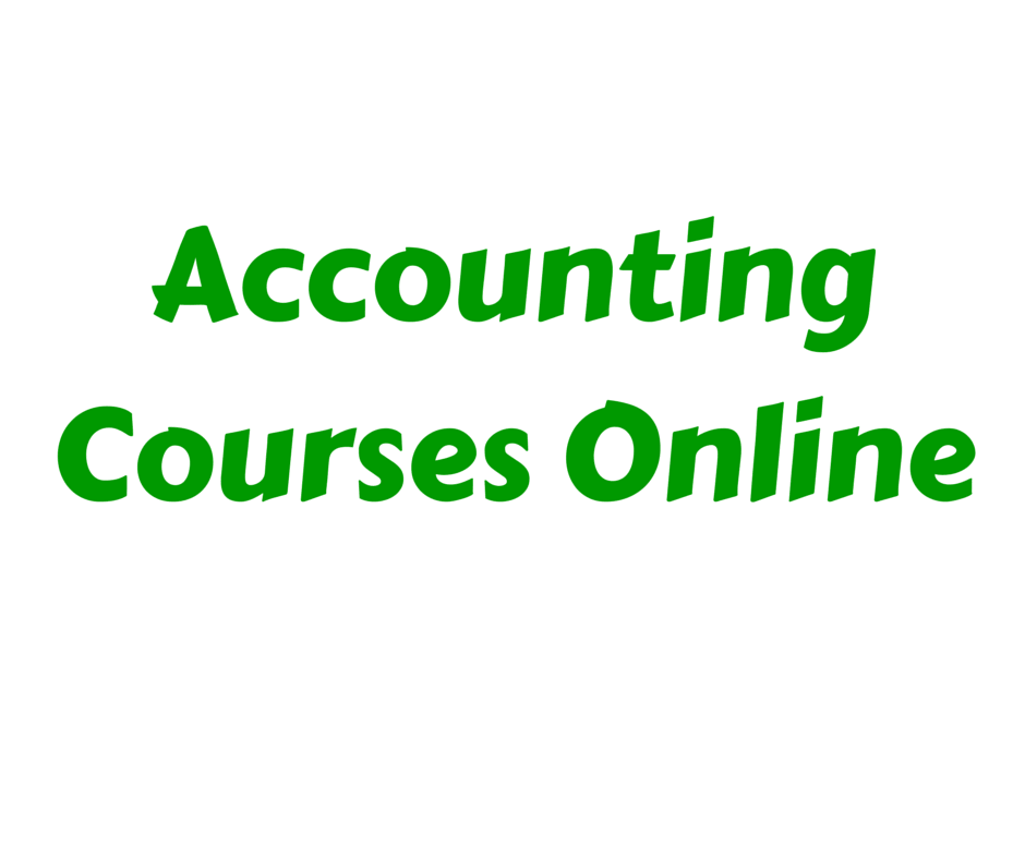 Accounting Courses Online