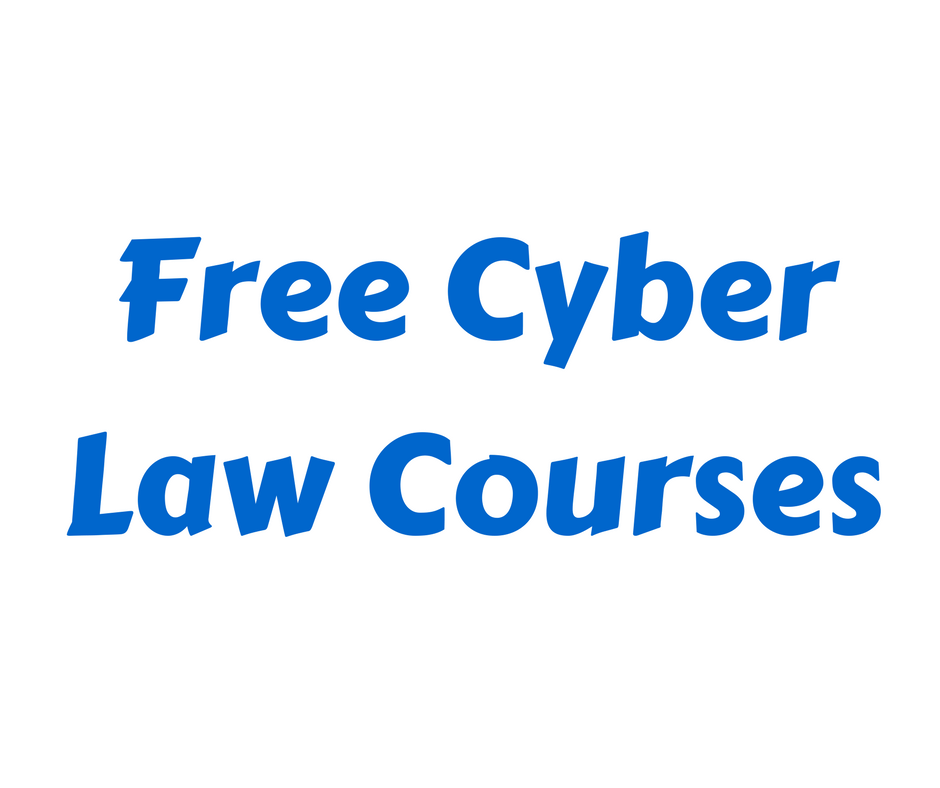 Cyber Law Courses